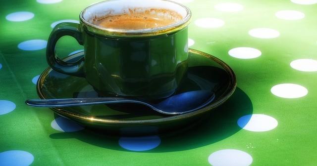 Café vert dans un régime minceur